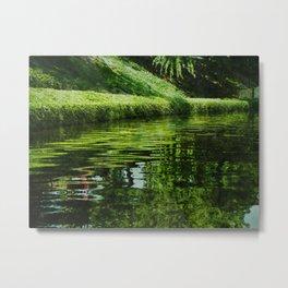 River Reflections Metal Print