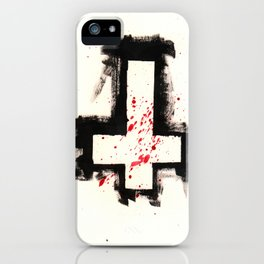 Inverted Cross Shirt iPhone Case