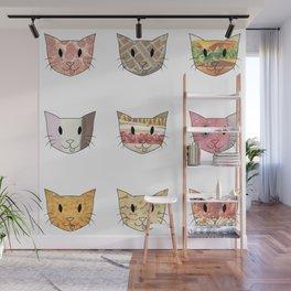 Food & Cats Wall Mural