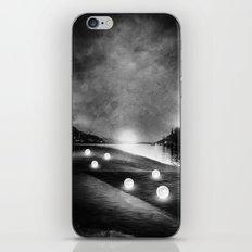 Field of lights (B&W) iPhone & iPod Skin