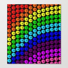 Chase the rainbow Canvas Print