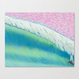 MOONMAN X BIGWAVE 2.2 Canvas Print
