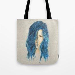 """""""Blue"""" Tote Bag"""