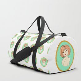 Valentine Pinup 1 Duffle Bag