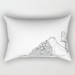 Free Tacos Rectangular Pillow