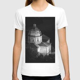 shot on film .. tuscan church T-shirt