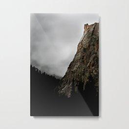 Dark Canyon Metal Print