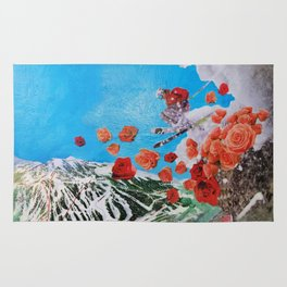 Ski Roses Rug