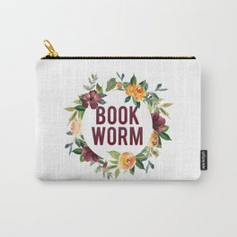 Autumn Bookworm Carry-All Pouch