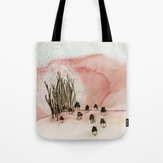 something new was discovered. Tote Bag