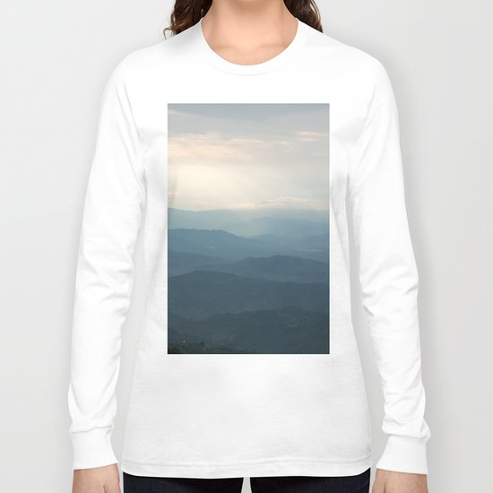 Layered mountains Long Sleeve T-shirt