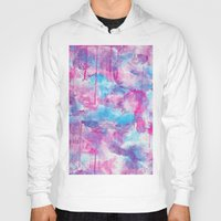 water colour Hoodies featuring Water Colour Pattern by Andrea Raths