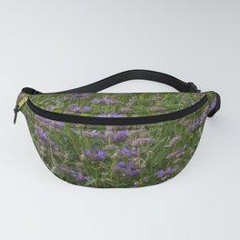 Purple Sage Bushes Fanny Pack