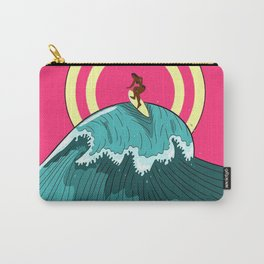 Balinese Surfing Carry-All Pouch