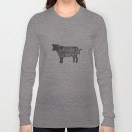 Beef Butcher Diagram Long Sleeve T-shirt