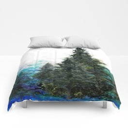 GREEN MOUNTAIN PINES LANDSCAPE Comforters