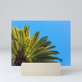 Palm Tree View Mini Art Print