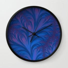 Stacking Hearts - Fractal Art Wall Clock