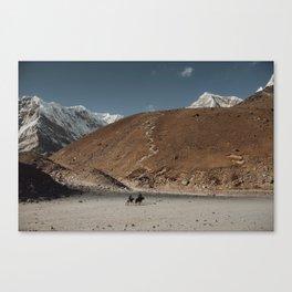 Ghorak Shep Canvas Print