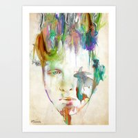 archan nair Art Prints featuring Organic by Archan Nair