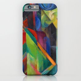 "Franz Marc ""Stables"" iPhone Case"