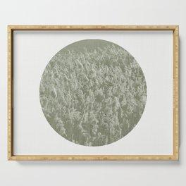 Reeds Abstract Circular Serving Tray
