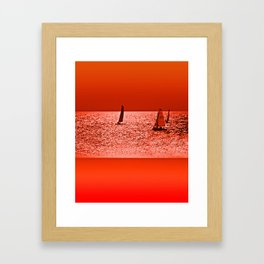 Autumn Ocean Framed Art Print