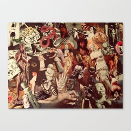 The Sacred Canvas Print