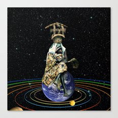 Gia (Mother Earth) Canvas Print
