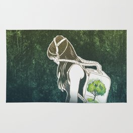 The Last Breath on Earth(SAVE THE FOREST)  Rug
