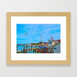 San Francisco Waterfront Framed Art Print