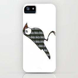 Fish bird iPhone Case