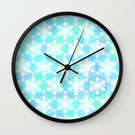 Winter Koi Wall Clock