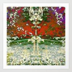 Blooming Ballet Art Print
