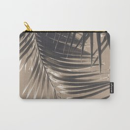 Palm Leaves Sepia Vibes #2 #tropical #decor #art #society6 Carry-All Pouch