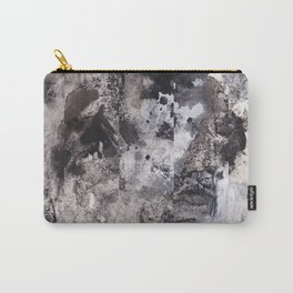 Monochrome Chaos Carry-All Pouch
