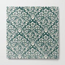 Damask Pattern 5 Metal Print