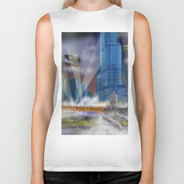 Windy City (Steampunked) Biker Tank