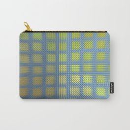 Pointed Pattern Carry-All Pouch