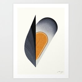 Mussel Art Print