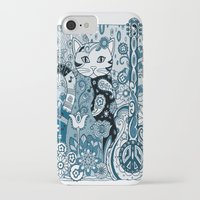 hippy iPhone & iPod Cases featuring Hippy Puss by SwanniePhotoArt