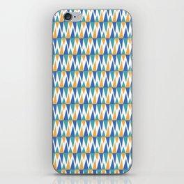 Fiesta! (Blue) iPhone Skin