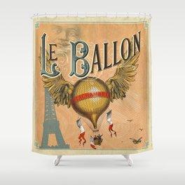 Le Ballon Shower Curtain
