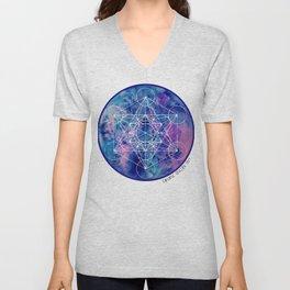 Zenetae Planet Metatron Unisex V-Neck