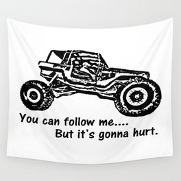 Follow Me Wall Tapestry