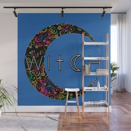 Witch Crescent Wall Mural