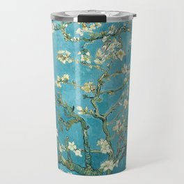 Almond Blossoms by Vincent van Gogh Travel Mug