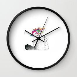 I am always watching you. Wall Clock