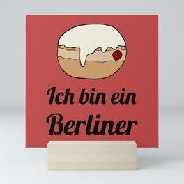 Ich bin ein Berliner Mini Art Print