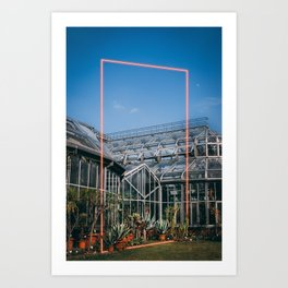 Neon Botanical XI Art Print